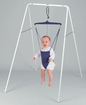画像1: 【長期レンタル】ジョリージャンパー・ポータスタンド Jolly Jumper  Port-A-Stand ベビー 赤ちゃん トランポリン 運動 体操